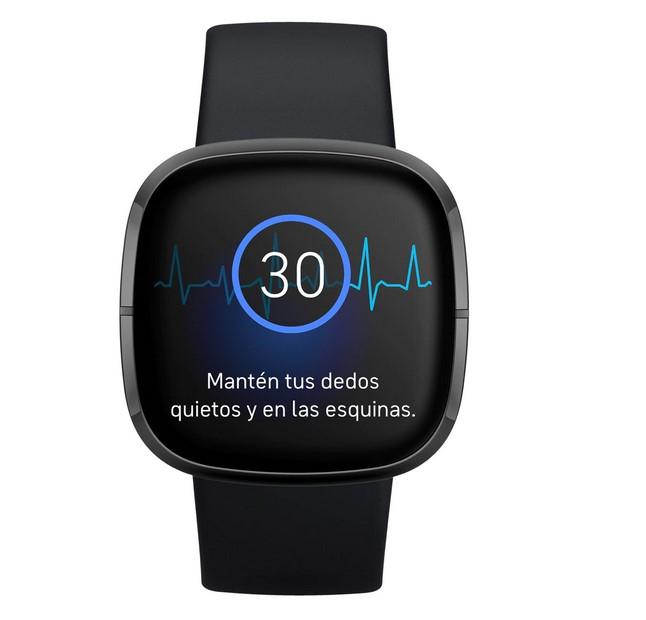 Fitbit Fitbit Sense Negro Smartwatch de salud avanzado