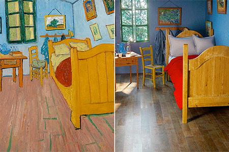 De la pintura a la realidad: las habitaciones de seis célebres cuadros, recreadas en gifs