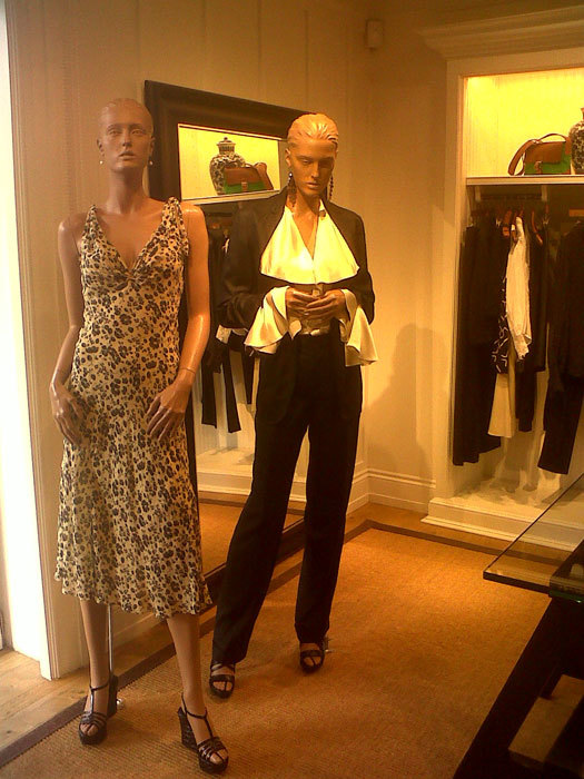 Foto de Avance Ralph Lauren Primavera-Verano 2012: mezcla de tendencias (7/18)