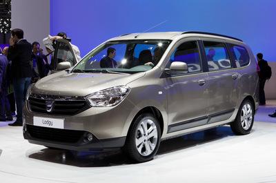 Dacia Lodgy, más datos e imágenes reveladas en Ginebra