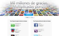 Ranking con las aplicaciones de iOS más descargadas de todos los tiempos