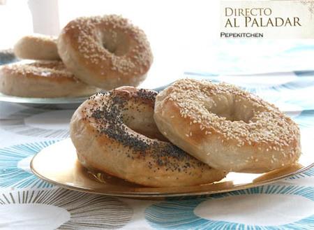 foto de bagels
