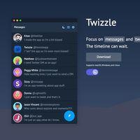 Twizzle es un cliente de Twitter gratuito para Windows, Linux y macOS que busca reducir tu adicción a esta red social