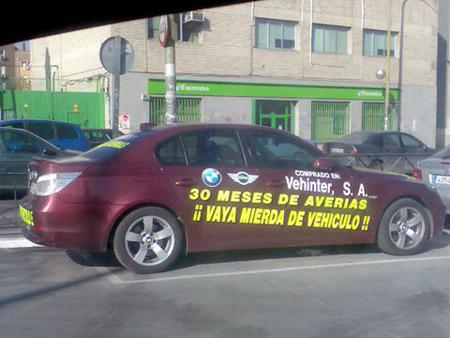 BMW Serie 5 averiado