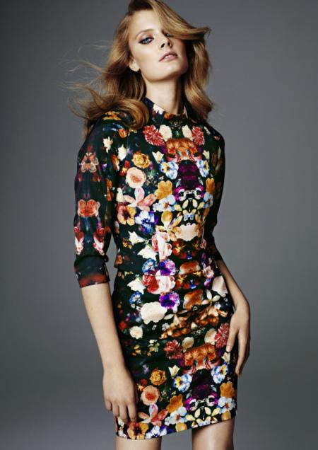 vestido H&M primavera 2012 2