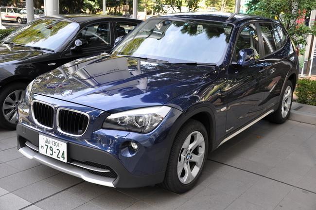 BMW X1 japonés
