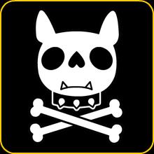 Dog Skull - Camiseta para perros