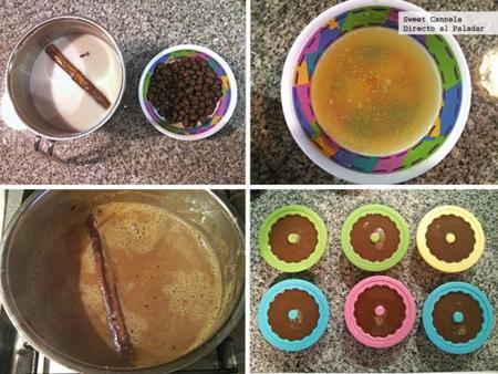 preparacion gelatina cafe olla