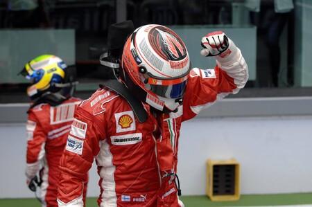 Raikkonen Ferrari F1 2007