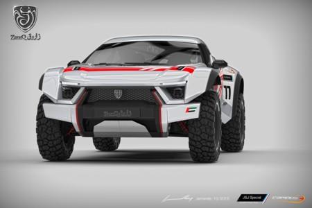 Zarooq Motors Sand Racer, un brutal todoterreno árabe ideal para el desierto