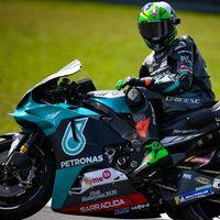 Franco Morbidelli firma dos años más con el Petronas y acompañaría a Valentino Rossi, cuya oficialidad se demora