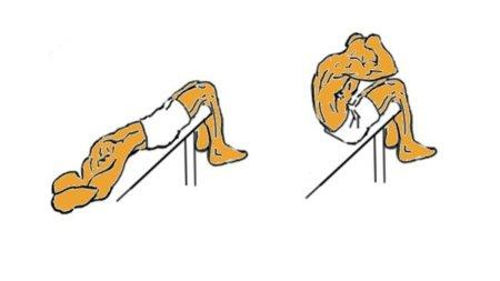 Guía para principiantes (XLIII): Elevaciones de tronco en banco inclinado