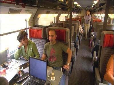 Eurostar interior