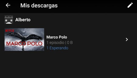 Netflix Descarga Cola