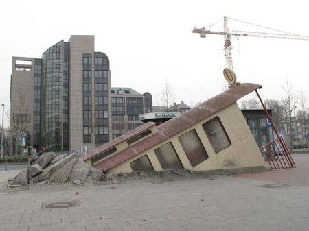 La estación de metro que tiene forma de vagón de metro