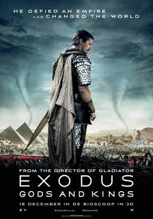 'Exodus: Dioses y reyes' de Ridley Scott, nuevo tráiler y últimos carteles