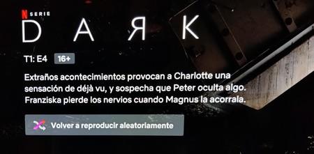 Reproducción Aleatoria Netflix Android Tv