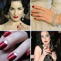 Las uñas de Dita von Teese