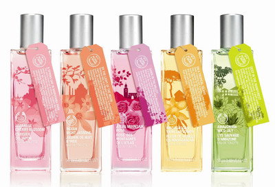 "Una vuelta al mundo con ""Scents of the World"", las nuevas fragancias de The Body Shop"