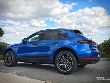 Porsche Macan lateral trasero