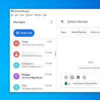 Crean un cliente para PC de la versión web de Mensajes: consulta y responde SMS desde Windows, Mac y Linux