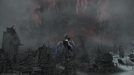 La ciudad derruida de Garlemald.