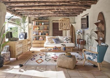 16 propuestas para decorar con rafia y yute y conseguir el salón más fresco y rústico de todo el barrio