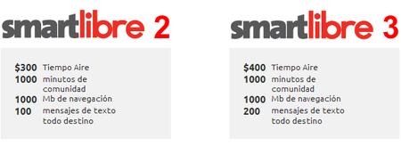 Smartlibre 2 y 3 Iusacell