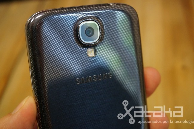 Galaxy S4 cámara sensor