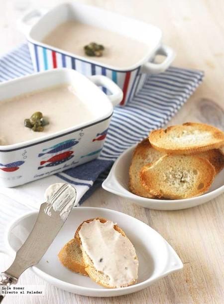Crema de atún y alcaparras, receta fácil y rápida para el aperitivo