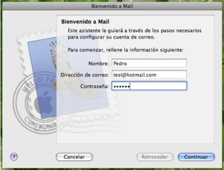 Configura Mail.app con cuentas Hotmail sin necesidad de plugin
