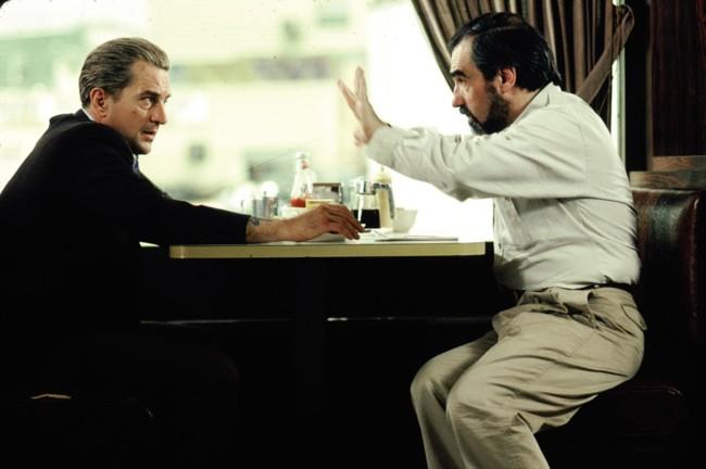 Martin Scorsese dirige a Robert de Niro en Uno de los Nuestros