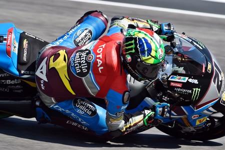 Ni una caída impide a Franco Morbidelli ser el más rápido en los libres de Moto2