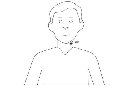 Motorola solicita una patente de un micrófono que se podría tatuar en el cuello