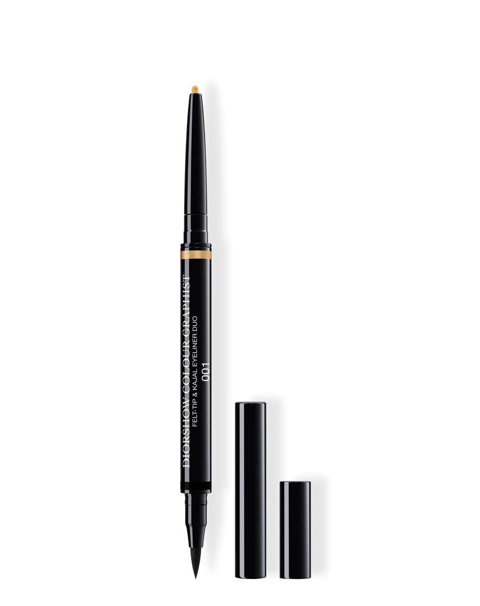 Lápiz de ojos bicolor en dorado y negro Colour Graphist de Diorshow
