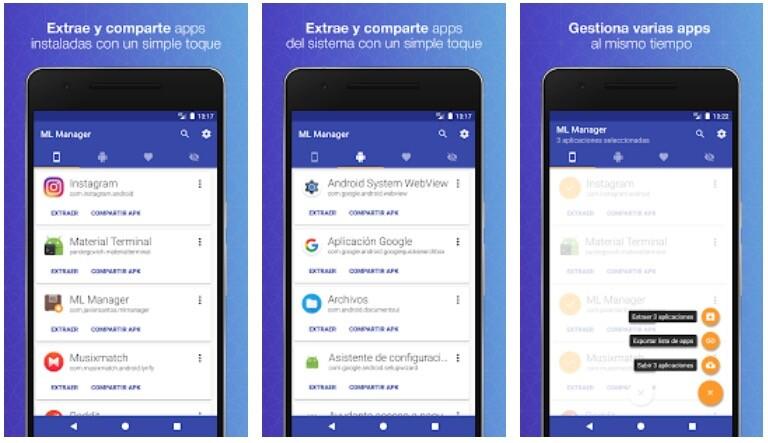 Con esta apps podrás extraer y compartir APKs de aplicaciones y games muy fácilmente