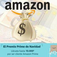 El Premio Prime de Navidad: hasta 10.000 euros, en cheques regalo, por ser cliente Amazon Prime