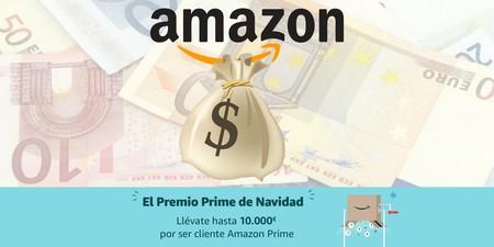 Regresa el Premio Prime de Navidad: hasta 10.000 euros, en cheques regalo, por ser cliente Amazon Prime