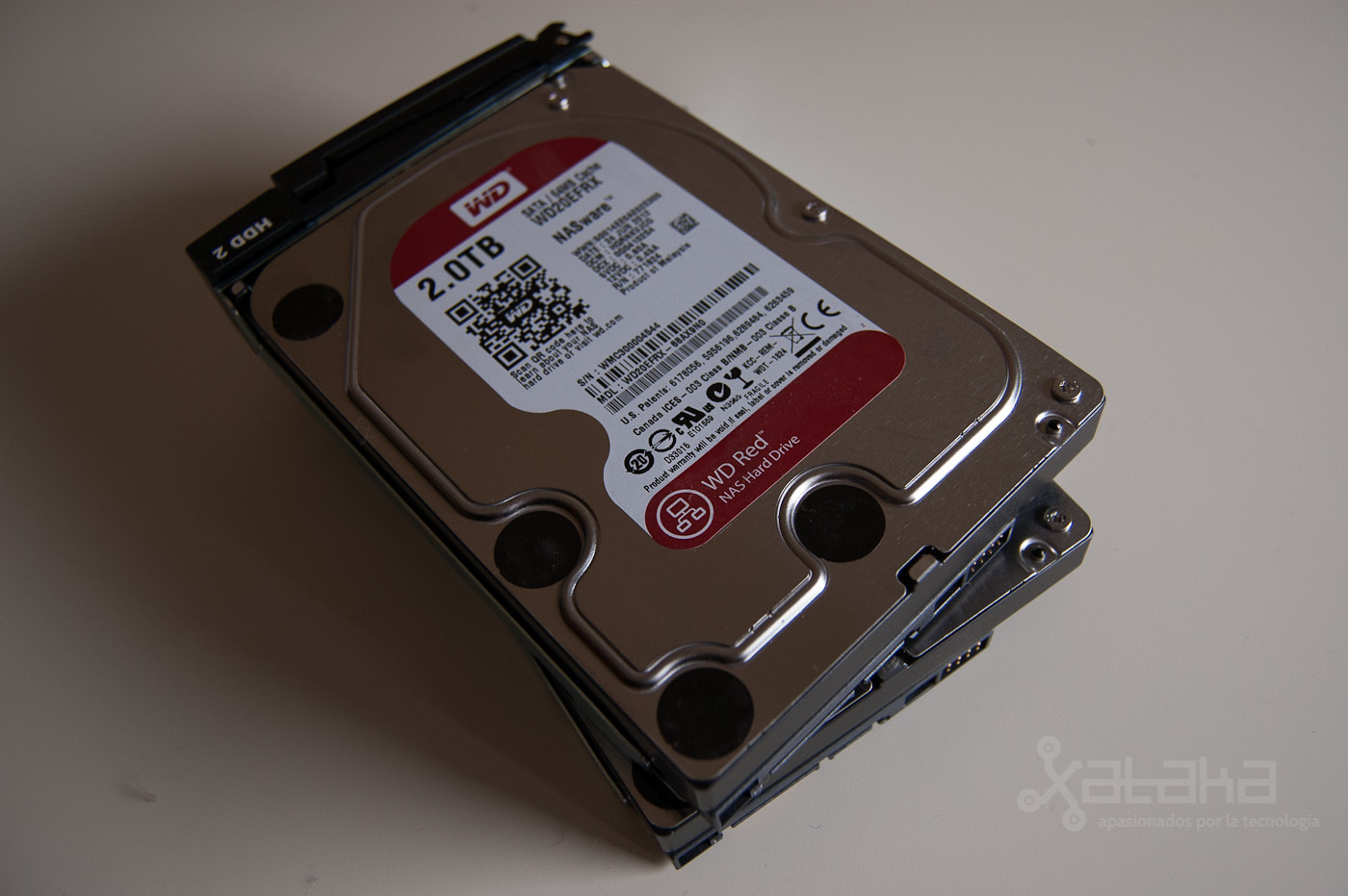 Foto de QNAP TS-269L y WD Red, análisis (10/12)