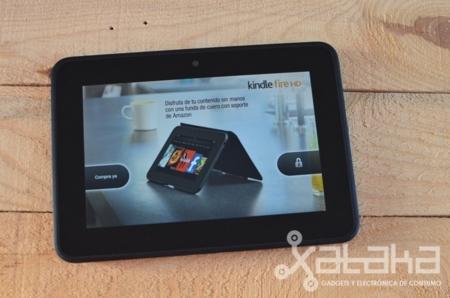 Kindle Fire HD análisis anuncios flash