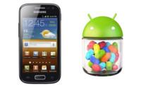 Samsung Galaxy Ace 2 comienza a recibir Android 4.1.2 (Jelly Bean)
