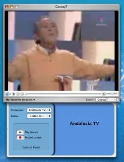 CocoaJT: Televisión on-line de todo el mundo