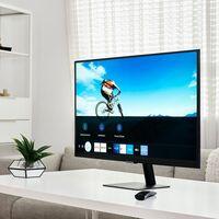 """Entretenimiento y productividad con el monitor """"inteligente"""" con Tizen Samsung Smart M5 de 27"""" Full HD a 179 euros en MediaMarkt"""