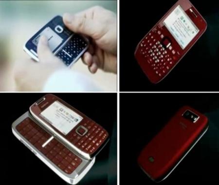 Nokia E72 y E75, primeras filtraciones
