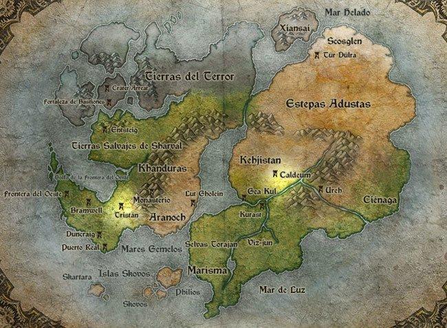 Mapa Diablo III
