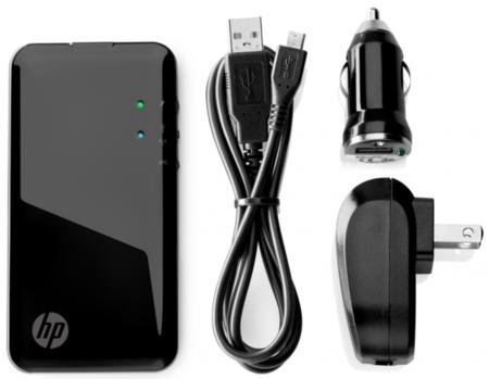 HP Pocket Playlist, almacenamiento inalámbrico para llevar