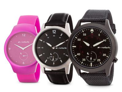 Es el momento: pulsera cuantificadora y reloj analógico se unen en el Runtastic Moment