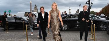 El vestido de leopardo que Kate Moss ha lucido en París será todo lo que querrás tener para dar comienzo al otoño