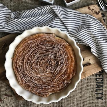 Pastel de leche arrugado, receta tradicional griega (con vídeo incluido)