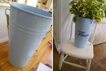 Hazlo tú mismo: un jarrón con letras pintadas